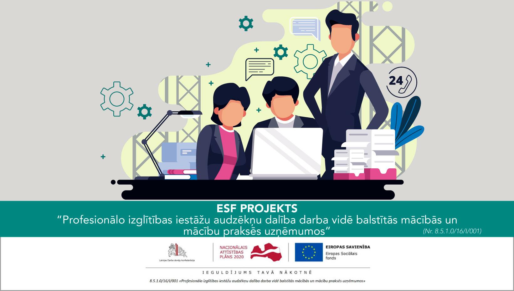 Profesionālo izglītības iestāžu audzēkņu dalība darba vidē balstītās mācībās un mācību praksēs uzņēmumos