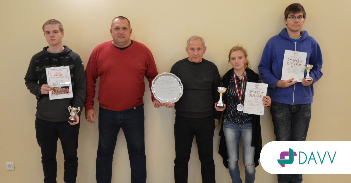 Godalgotas vietas un pateicības raksti RTK Sporta darba metodiskā centra ''AMI'' rīkotajos konkursos un sacensībās!
