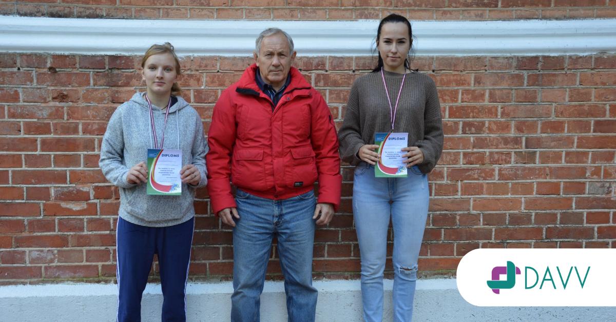 DAVV audzēkņu panākumi Dobeles novada krosa sacensībās!